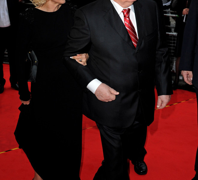 LONDON, ENGLAND - MARCH 30:  Former Soviet leader Mikhail Gorbachev and his daughter Irina Virganskaya attend the Gorby 80 Gala at the Royal Albert Hall on March 30, 2011 in London, England. The concert is to celebrate the 80th birthday of the former Soviet leader Mikhail Gorbachev.  (Photo by Eamonn McCormack/Getty Images)