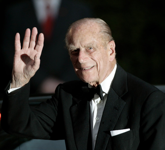 LONDON, ENGLAND - APRIL 28:  Prince Philip, Duke of Edinburgh, attends a gala pre-wedding dinner held at the Mandarin Oriental Hyde Park on April 28, 2011 in London, England.  (Photo by Matthew Lloyd/Getty Images)