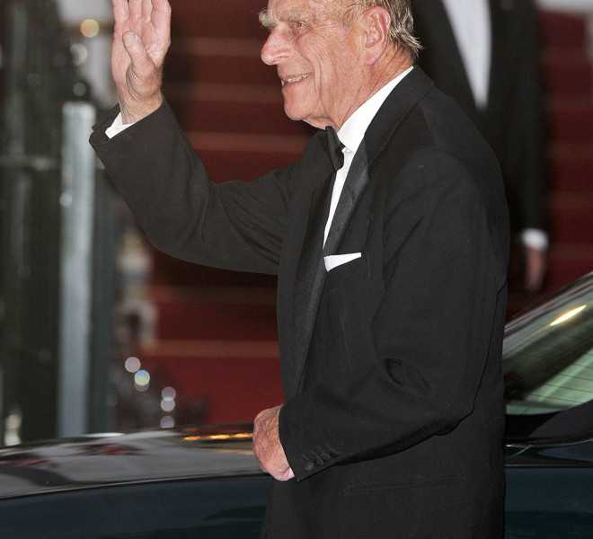 LONDON, ENGLAND - APRIL 28:  Prince Philip, Duke of Edinburgh, attends a gala pre-wedding dinner held at the Mandarin Oriental Hyde Park on April 28, 2011 in London, England.  (Photo by Pascal Le Segretain/Getty Images)