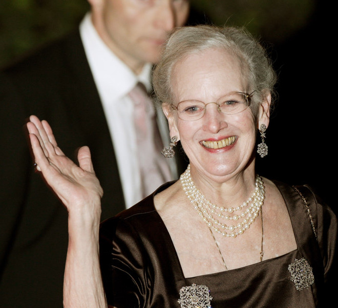 LONDON, ENGLAND - APRIL 28:  Queen Margrethe II of Denmark attends a gala pre-wedding dinner held at the Mandarin Oriental Hyde Park on April 28, 2011 in London, England.  (Photo by Matthew Lloyd/Getty Images)
