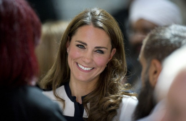 BIRMINGHAM, ENGLAND - AUGUST 19:  Catherine, Duchess of Cambridge visits the Summerfield Community Centre, on August 19, 2011 in Birmingham, England. The centre is at the heart of the Winson Green Community which was very badly affected by the riots last week. (Photo by Geoff Pugh - WPA Pool/Getty Images)