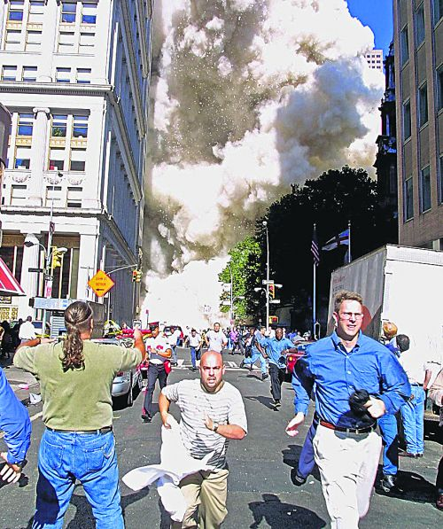 TO GO WITH AFP STORY by Sebastian Smith: US-attacks-911-anniversary-conspiracy