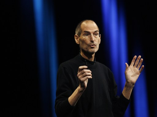 (FILES): This June 6, 2011 file photo shows Apple CEO Steve Jobs introducing Apples next generation computer operating system Mac OS X Lion, the mobile operating system iOS 5, and the internet storage service iCloud during the Apple Worldwide Developers Conference at the Moscone Center in San Francisco, California.  Apple on Wednesday, October 5, 2011 announced the death of its visionary co-founder Steve Jobs from cancer at 56.