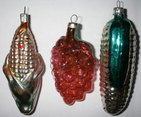 Любимые елочные игрушки и украшения