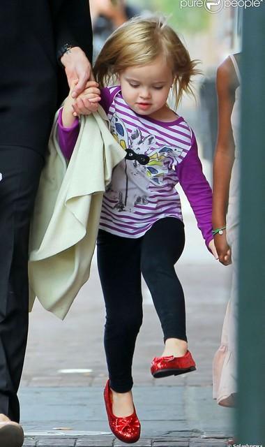 Дочка Анджелины Джоли – маленькая киноактриса картинки