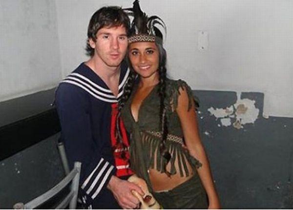 Фото messi с девушкой