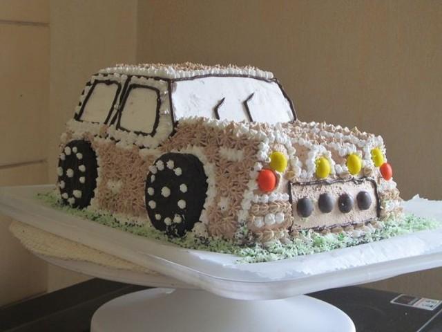 Торт-авто. Еще одна креативная сладость