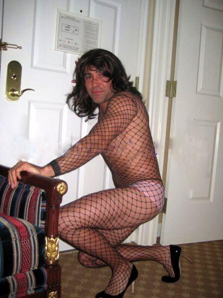 Фотки парень в женском чулке