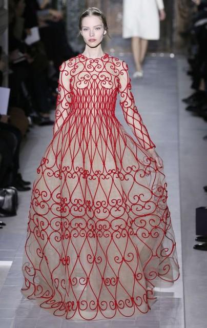 Копия платья valentino