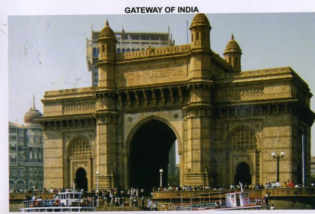 Мумбаи — Киев. Открытка пришла через 6 дней