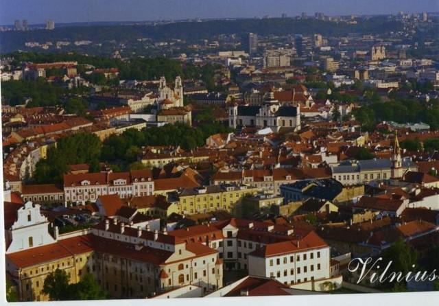 Вильнюс — Киев. Открытка пришла через 7 дней