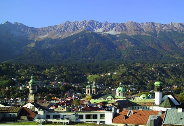 Панорама города. Фото: innsbruckphoto.at