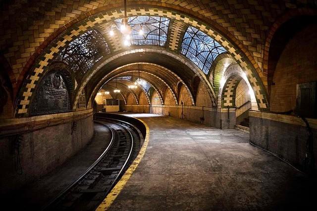Заброшенная станция метро в нью йорке