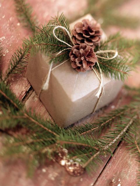 Оформление подарков на новый год своими руками