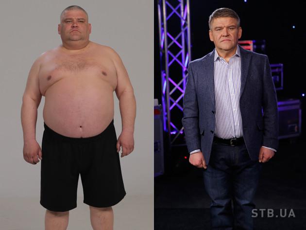 Тренер набрал вес и похудела
