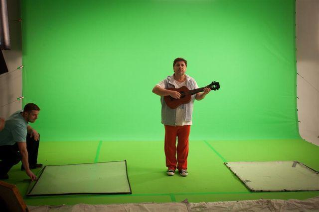 Как снимали клипы