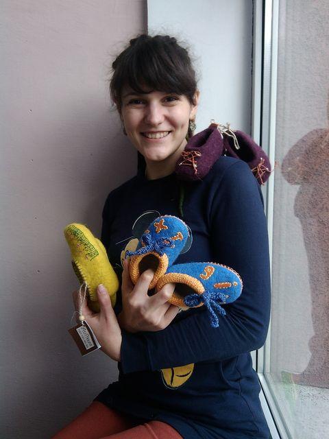 Рукодельница. Анна Калугина уже три года влюблена в свое хобби. Фото из архива А.Калугиной