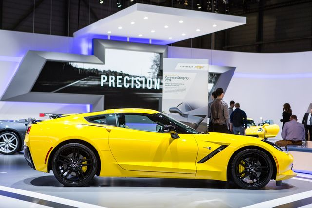 Chevrolet Corvette Stingray.Фото:AFP