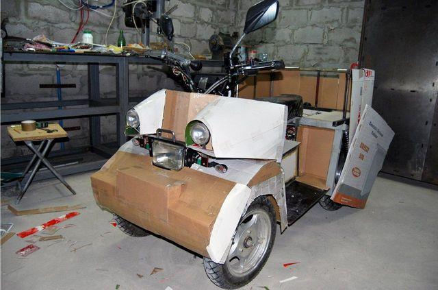Как сделать корпус квадроцикла