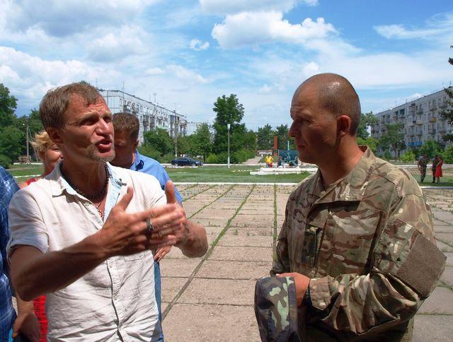 знакомство с военными крым