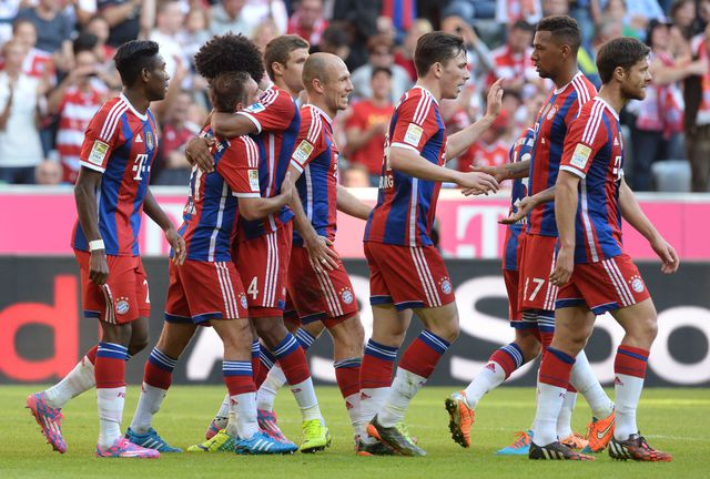 Чемпионат Германии Бавария в гостях разгромила Ганновер