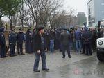 В Одессе проходят митинги против незаконной стройки