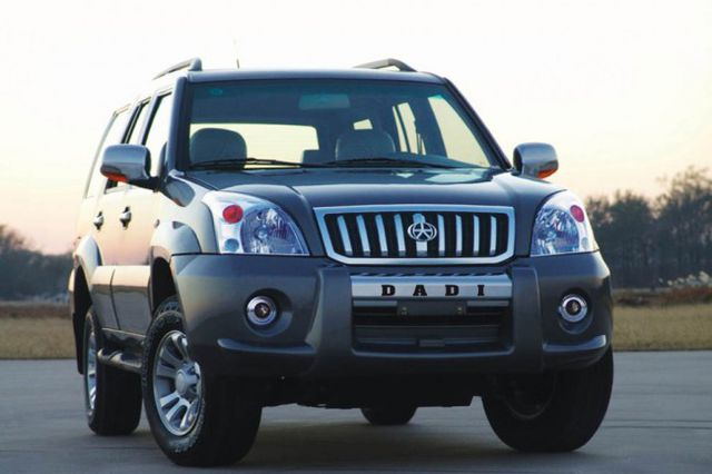 Dadi Shuttle — Toyota Land Cruiser Prado