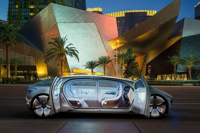 машины будущего мерседес