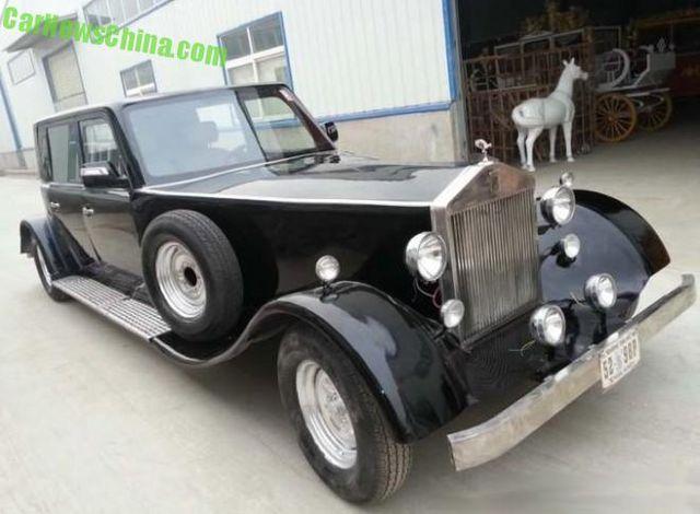 Rolls Royce Limuzin >> Китайцы создали электрический ретро-лимузин в стиле Rolls-Royce - Автомобильные новости ...