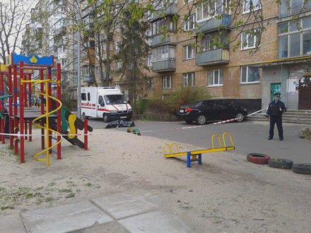 Генплан жилого дома с детской площадкой