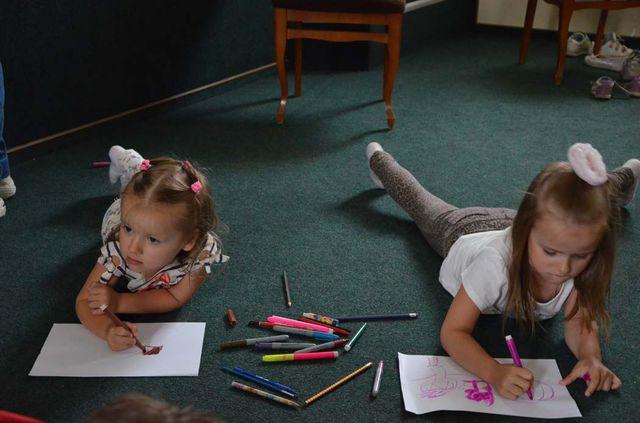 на занятии дети знакомятся