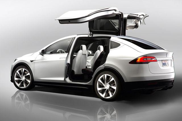 электромобиль тесла модель х