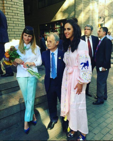 Джамала вместе сДжемилевым посмотрели  документальный фильм оКрыме