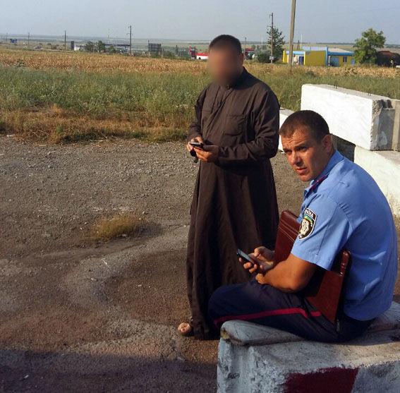 Первосвященника задержали сгранатометами иззоны АТО