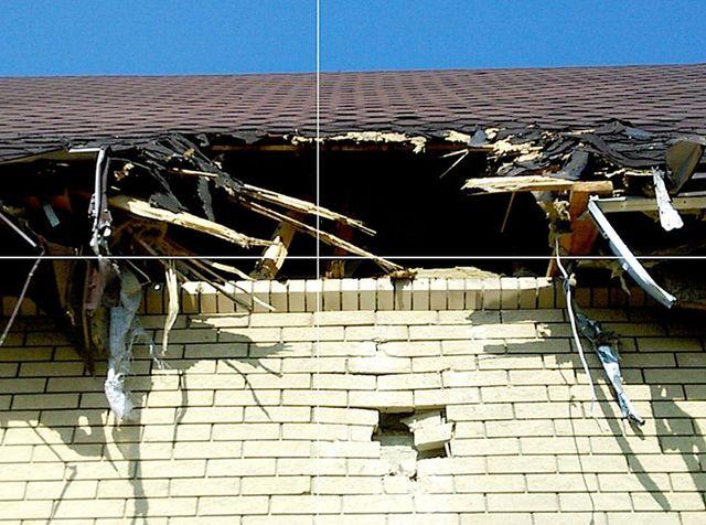 НВФ обстреляли жилые дома ирайон клиники вКрасногоровке
