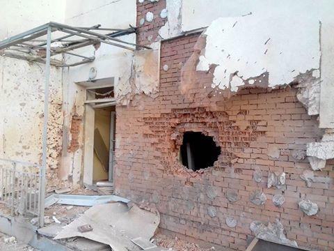 Боевики изартиллерии обстреляли ж/д-станцию Авдеевки. Движение поездов приостановлено