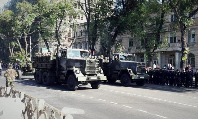 Украинские военные примут участие впараде вДень Независимости Молдовы