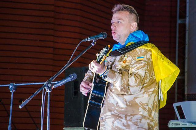 ВКиеве презентуют «песни, рожденные вАТО»