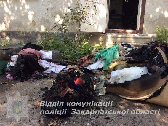 ВМукачево произошел взрыв вжилом доме