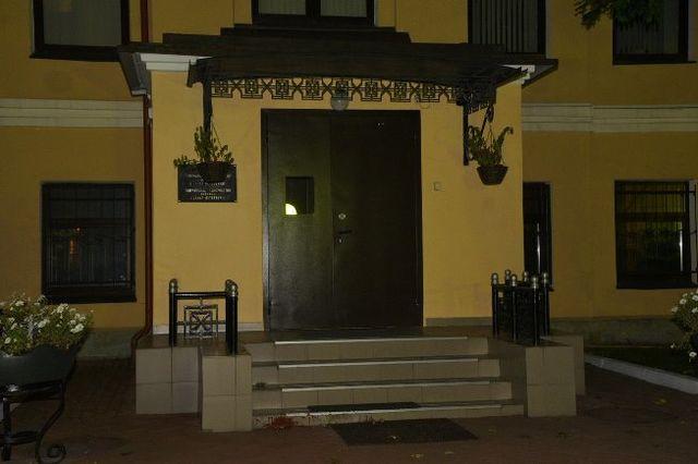 В северной столице забросали краской консульство Украины— Возмездие