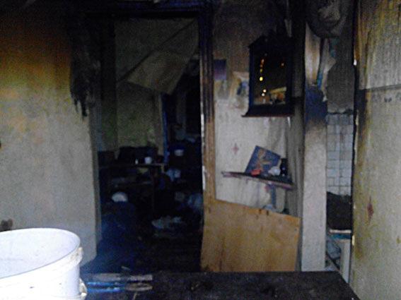 В итоге пожара в личном доме вПолтавской области погибли три человека