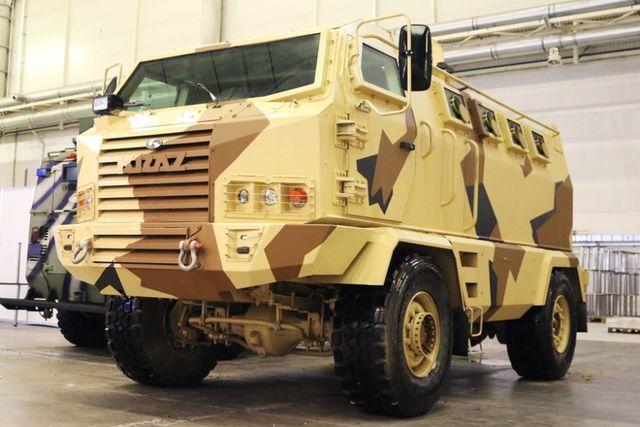 Вгосударстве Украина спроектирован новый броневик, размещены фото