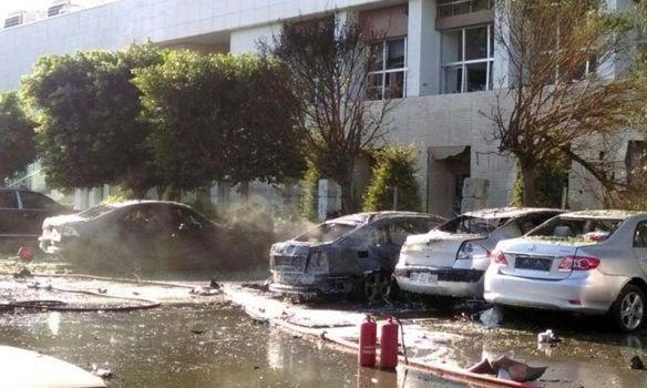 ВАнталье уздания Торгово-промышленной палаты произошел взрыв