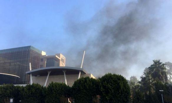 Появились первые фото сместа взрыва втурецкой Анталье