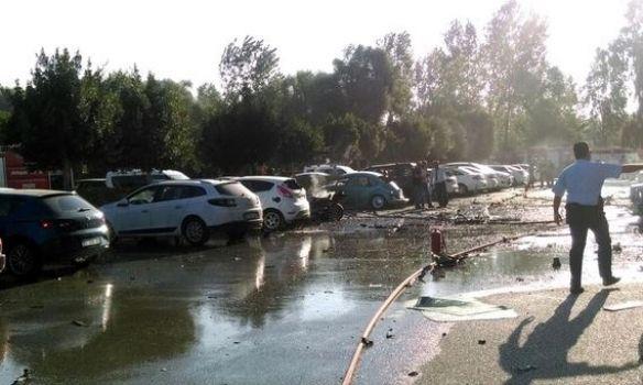 Жители России непострадали при взрыве вАнталье— ГенконсульствоРФ