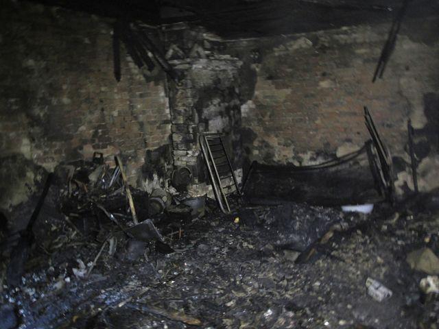 ВЖитомирской области живьем сгорели три человека