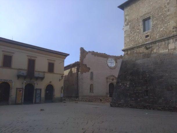 Землетрясение разрушило церковь Святого Бенедикта вИталии