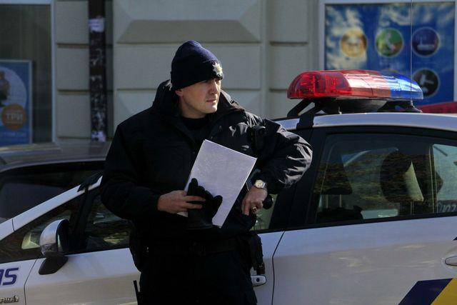 ВДнипре автомобиль патрульной милиции сбил пенсионера