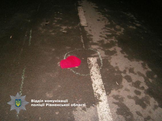 ВРовенской области шофёр «Нивы» сбил беременную женщину