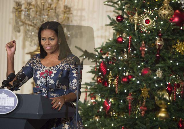 Как семья Обамы приготовилась к заключительному Рождеству вБелом доме